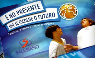 Salesiano, a traditional educational institution, had A.Companhia to create a campaign to reposition its brand.