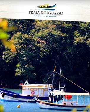 Praia do Iguassu is an exclusive Small Luxury Resort, whose visual identity was created by A.Companhia.