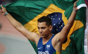 Fotografias realizadas durante competições com a presença de atletas brasileiros, em diversos locais do Brasil e do Mundo, como Londres e Guadalajara.