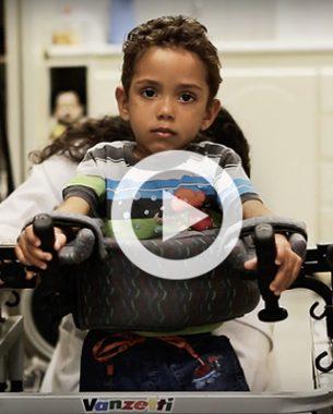 A.Companhia produziu anúncio de TV para a Associação Fluminense de Reabilitação.