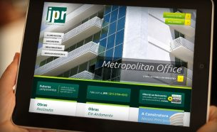 JPR Buildings had website and applications iOS / Android created by A.Companhia.