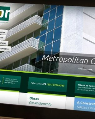 JPR Buildings had website and iOS / Android applications created by A.Companhia.