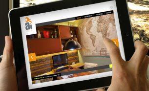O escritório A4 Arquitetos teve sua presença online revitalizada pela A.Companhia, com um novo portfolio de projetos mais atraente e acessível.