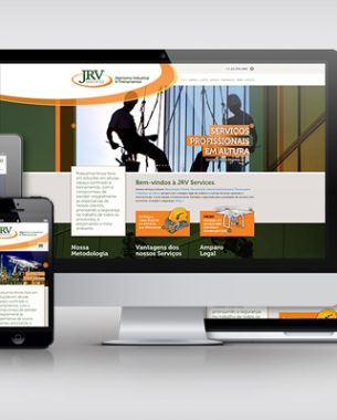 Communication projects, branding and content created for JRV Services Industrial Climbing and Training and Cleaning Facades and Windows in Heights.