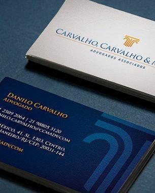 Carvalho, Carvalho & Moreira Advogados Associados had its visual identity created by A.Companhia.