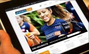 A.Companhia executou projetos de comunicação para a Upsports Club, uma assessoria esportiva com atendimento personalizado.