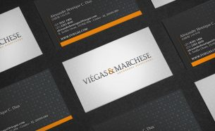 Viégas & Marchese Advogados Associados contou com A.Companhia para a criação de sua identidade visual.