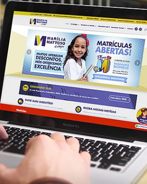 Marília Mattoso College counts on A.Companhia for the development of its communication projects, online and offline.