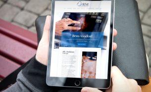 A Clínica RM Diagnóstico por Imagem teve seu website revitalizada pela A.Companhia, com um novo design mais atraente e acessível.